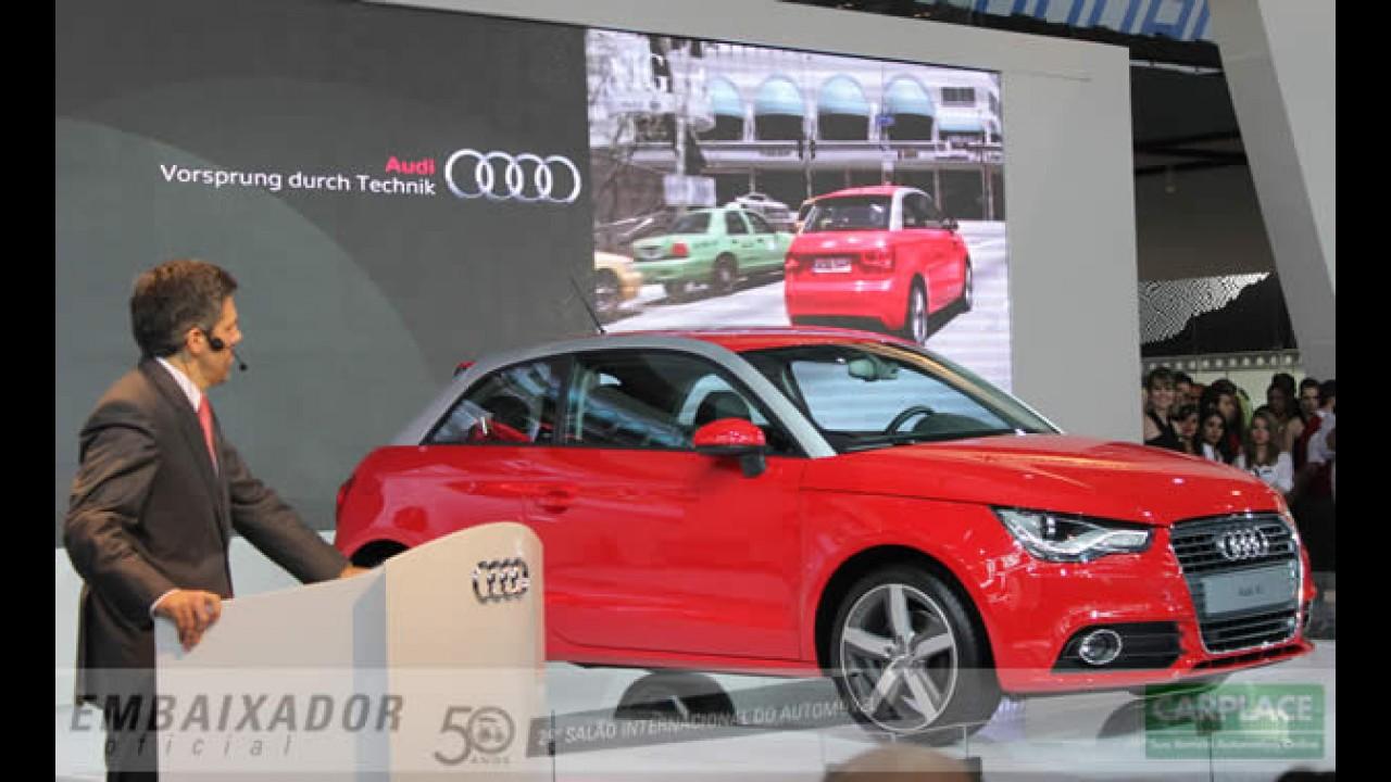 Salão do Automóvel: Audi A1 chega ao Brasil com motor 1.4 Turbo por R$ 90 mil