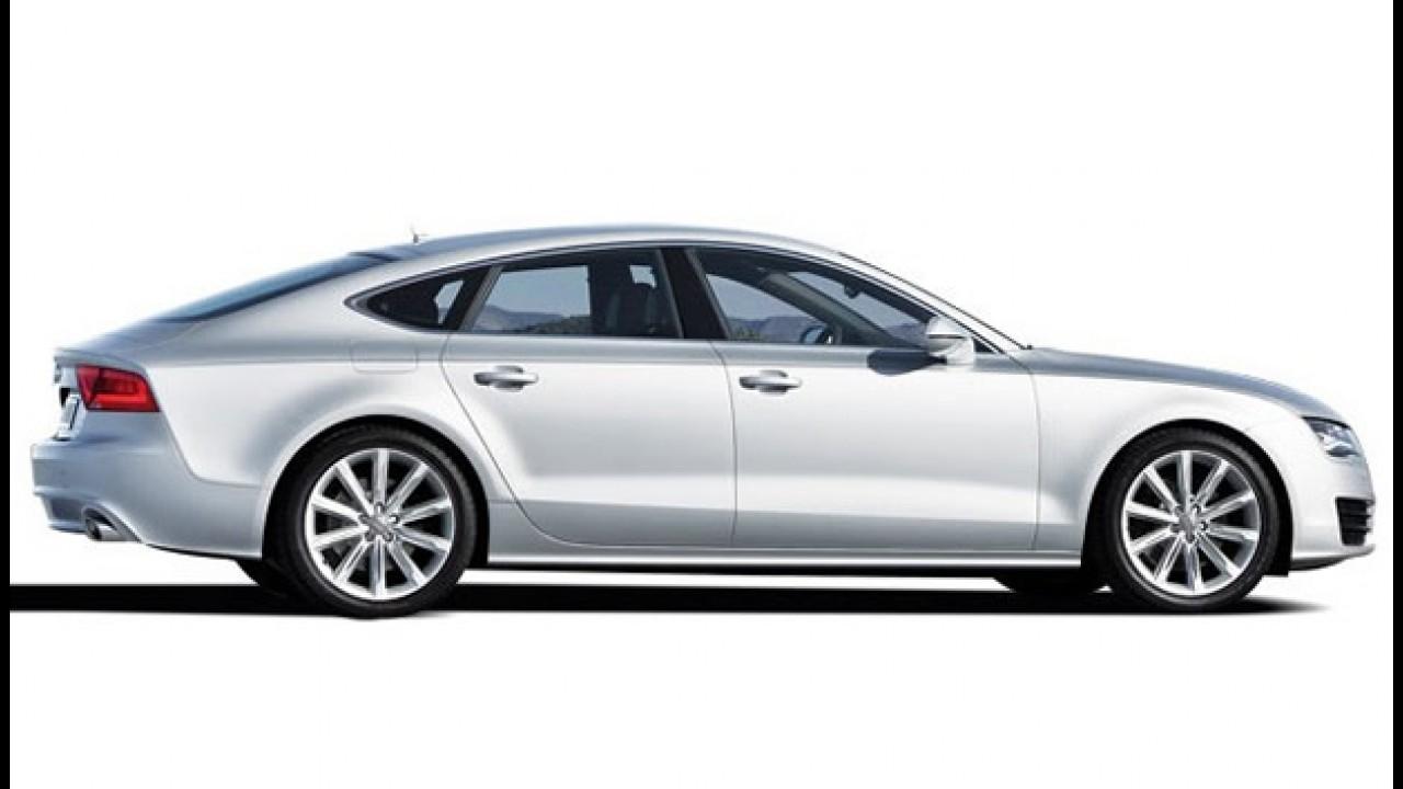 Novo Audi A7 2011: Vazam fotos oficiais