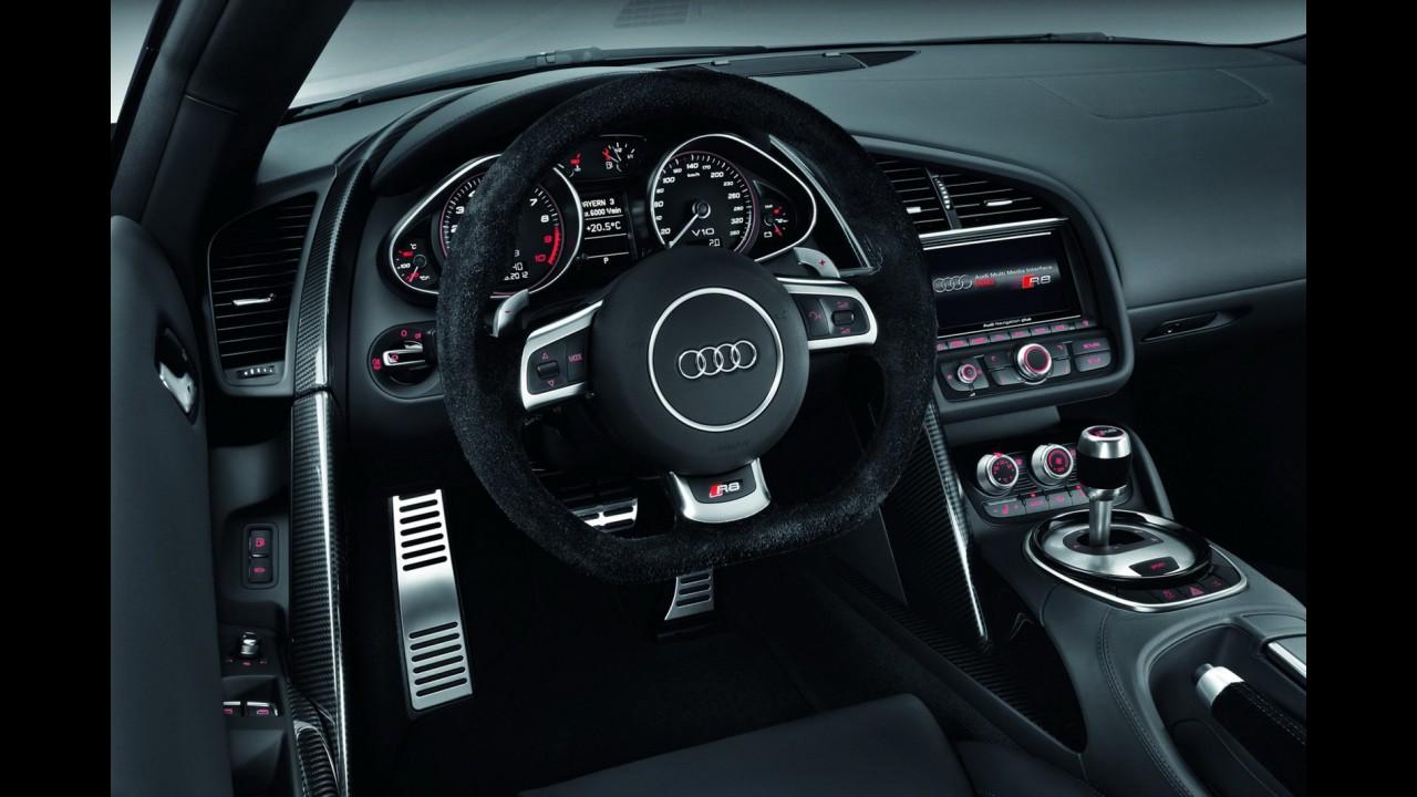 Novo Audi R8 2013 tem preços a partir de 91.575 libras (R$ 294.000) no Reino Unido