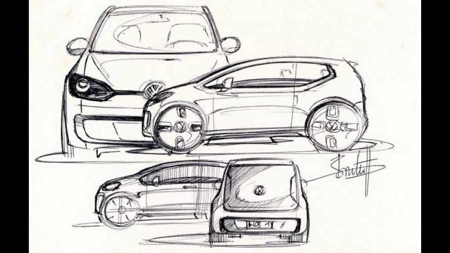 Próxima geração do VW Up! virá em 2017 com maior porte e dupla embreagem