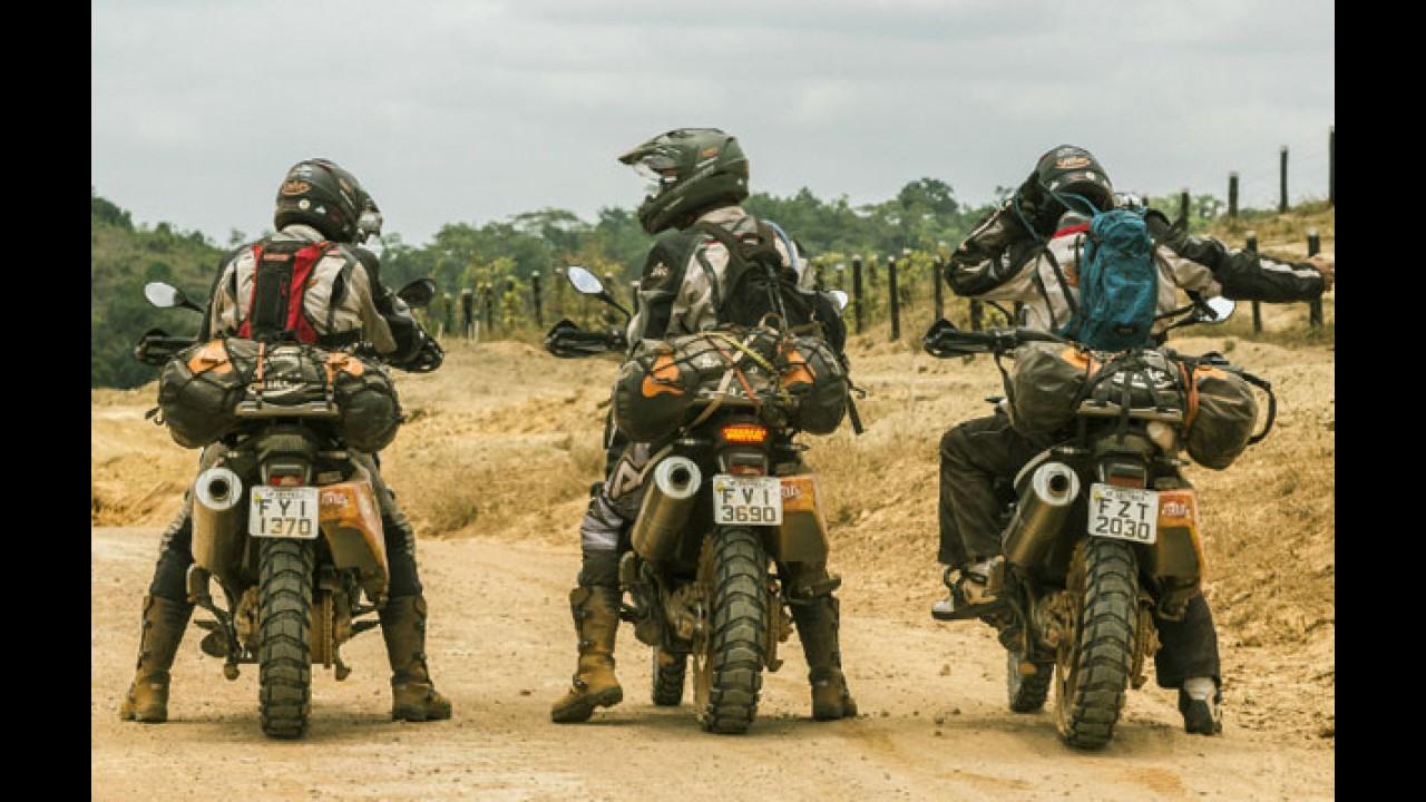 Com motos BMW F800 GS, expedição chega à nascente do Rio Amazonas no Peru