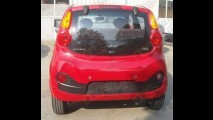 Chery QQ 2013 é flagrado sem camuflagem na China