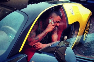 The Game Parades Around His Brand Spankin' New Bugatti Veyron