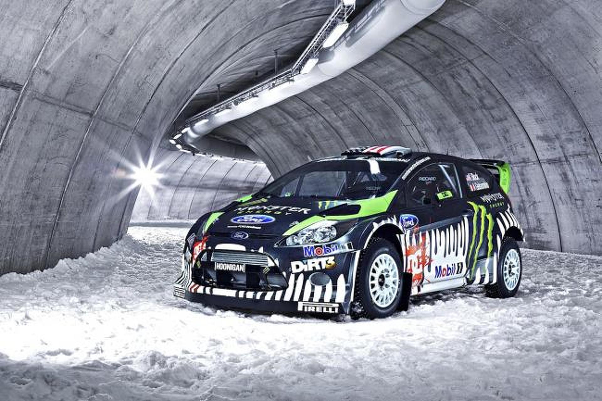 Tech Ride: Ken Block\'s Ford Fiesta RS Rally Car