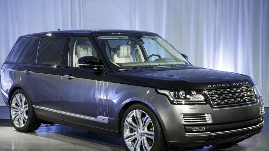 Range Rover SVAutobiography arrives in New York