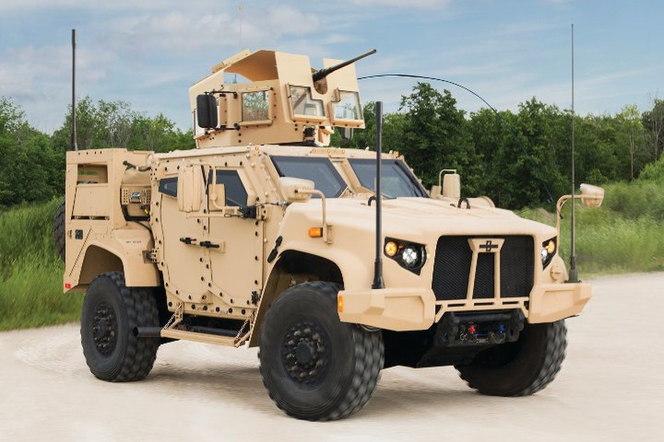 Meet the U.S. Military's $6.7 Billion Humvee Replacement