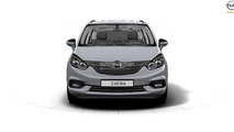 2017 Opel Zafira leaked photo