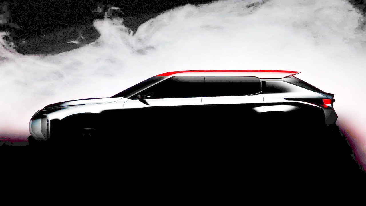 Mitsubishi Ground Tourer concept teaser (modified)