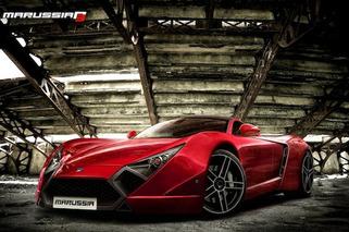 Sharp New Marussia B3 Concept Envisioned