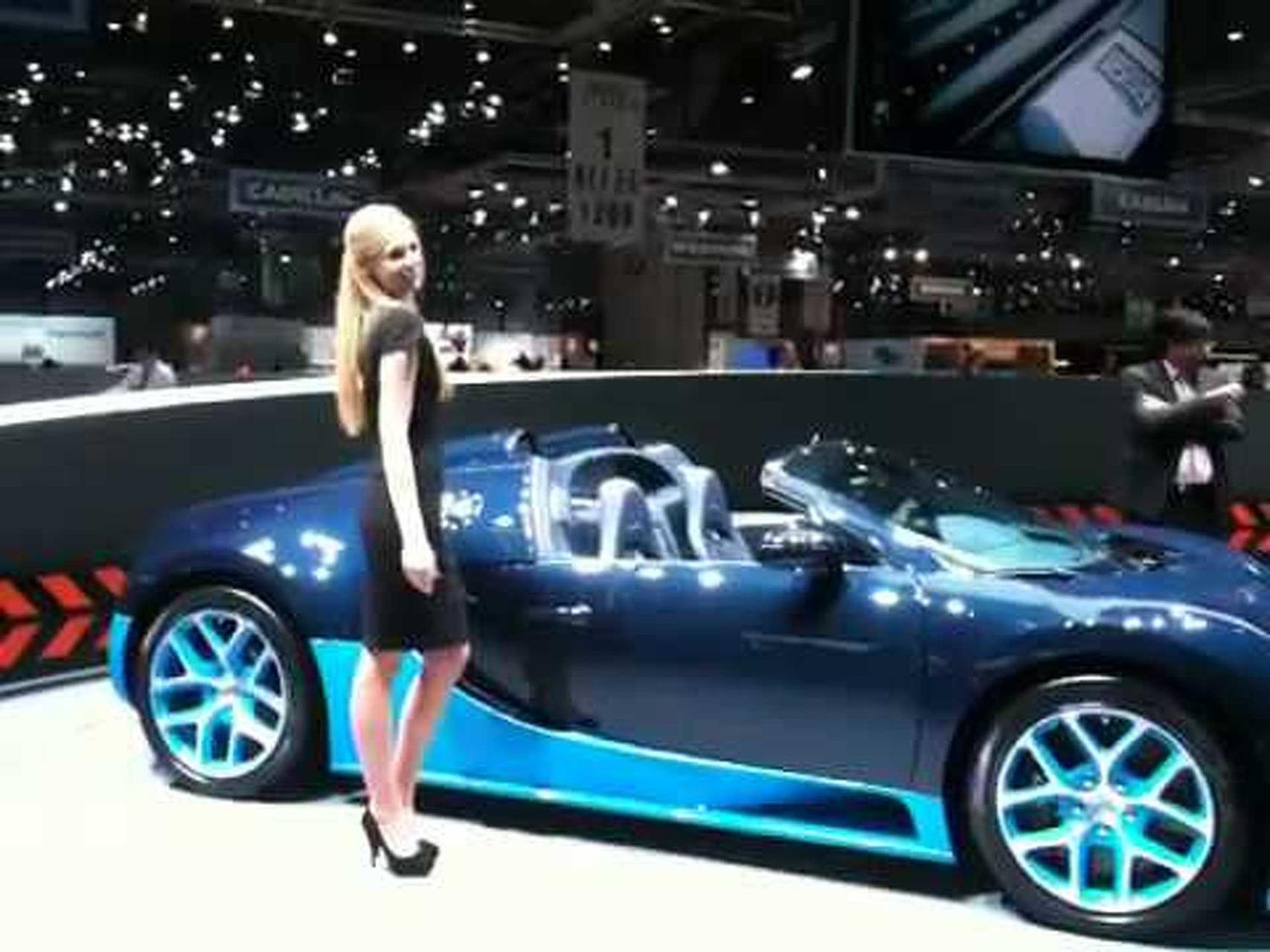 Bugatti Veyron Grand Sport Vitesse at Geneva motor show