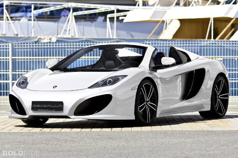Gemballa 12C GT Spider is a Modest McLaren