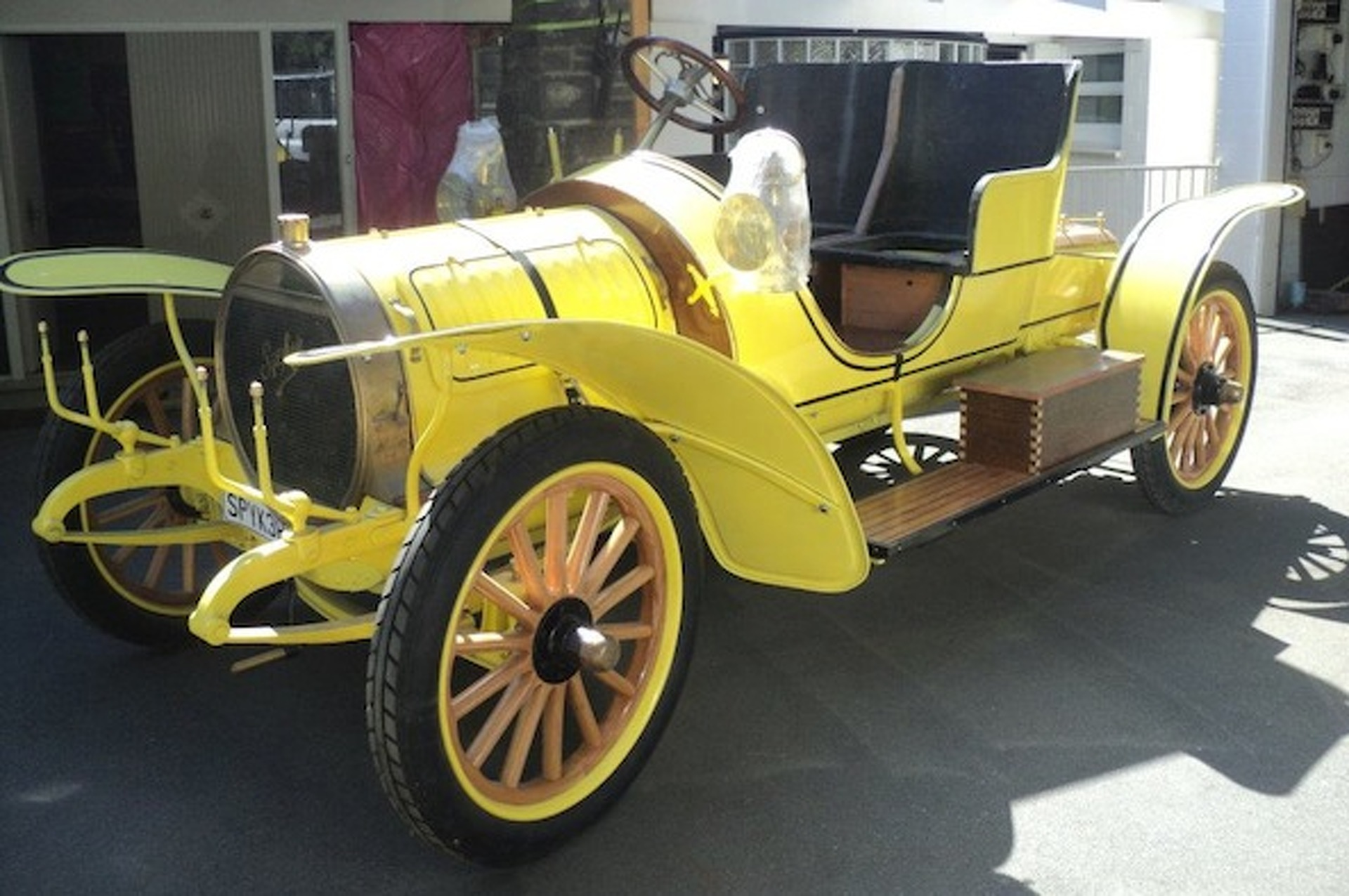This Guy Restored a 1907 Spyker From the Ground Up