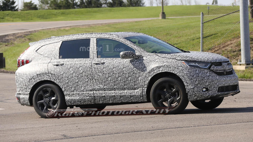 2018 Honda CR-V spied for the first time