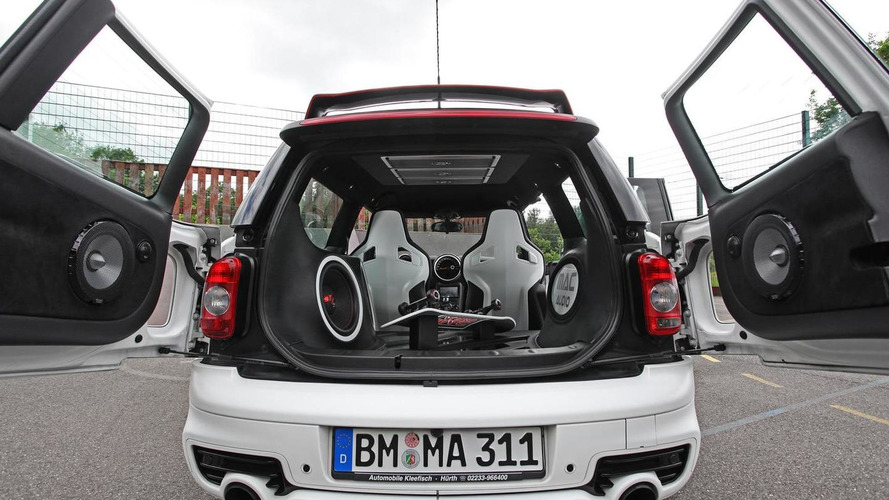Tuned MINI Clubman S show car is a mobile boombox