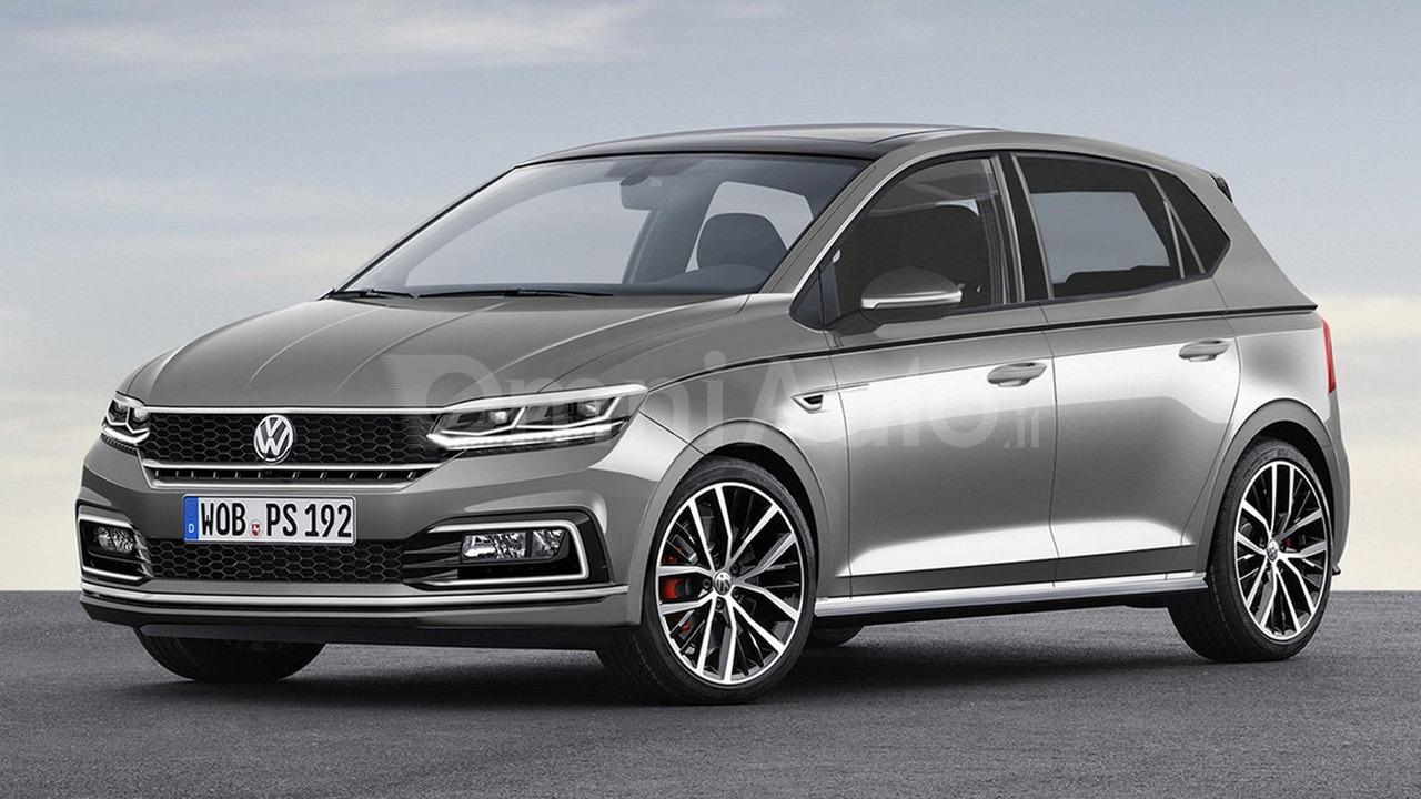2017 VW Polo render