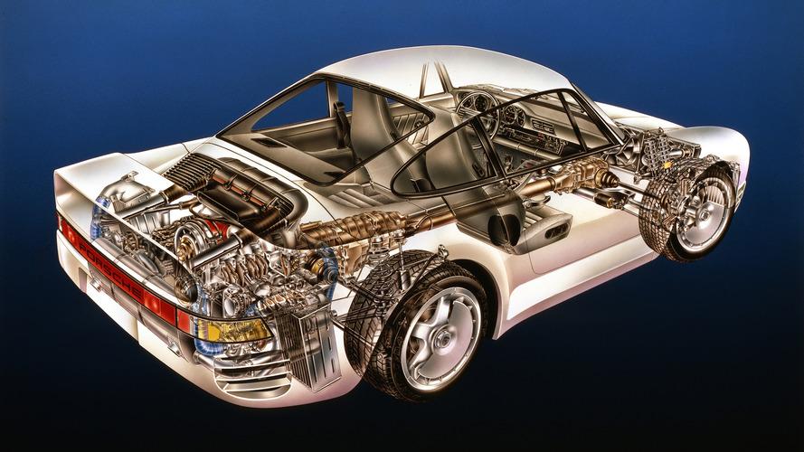 Kimble Cutaway: Porsche 959