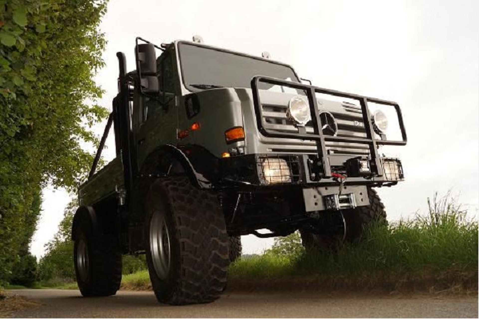 Arnold Schwarzenegger is Selling His Unimog