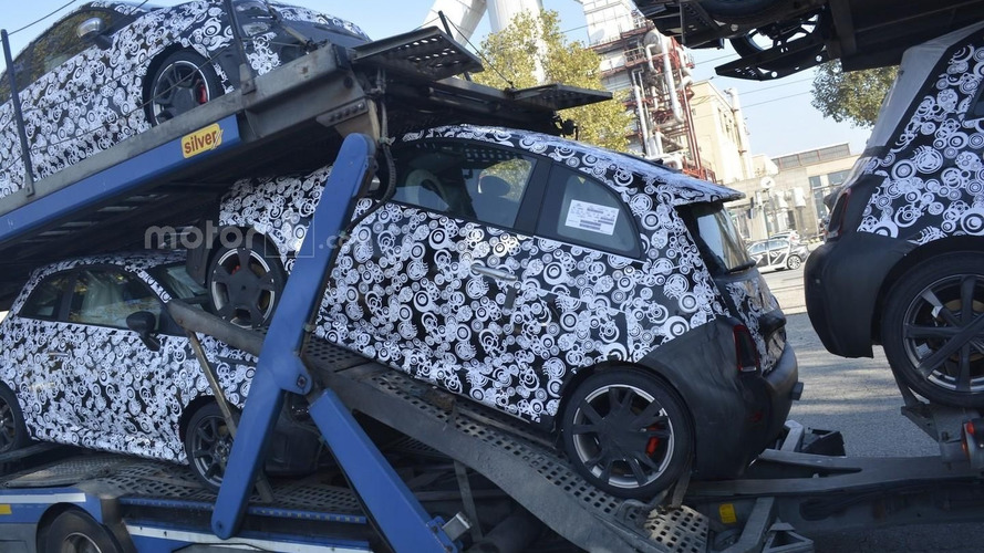 2017 Fiat 500 Abarth spied hiding facelift [33 pics]