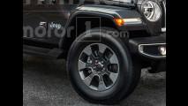 Jeep Wrangler, il rendering