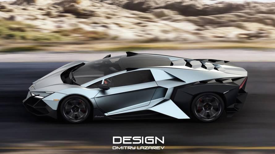 Lamborghini Forsennato Demasiado Atrevido Hasta Para Ser Un Render