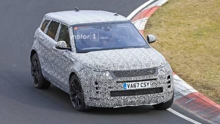 Le prochain Range Rover Evoque en balade sur le Nürburgring