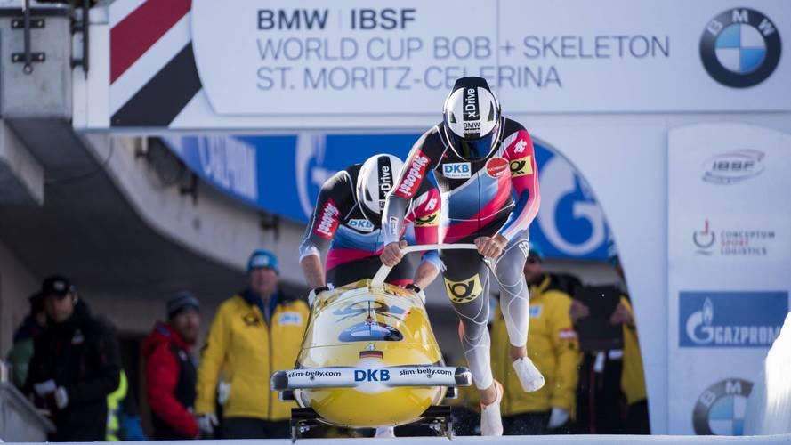 BMW Motorrad sisakok a téli olimpián