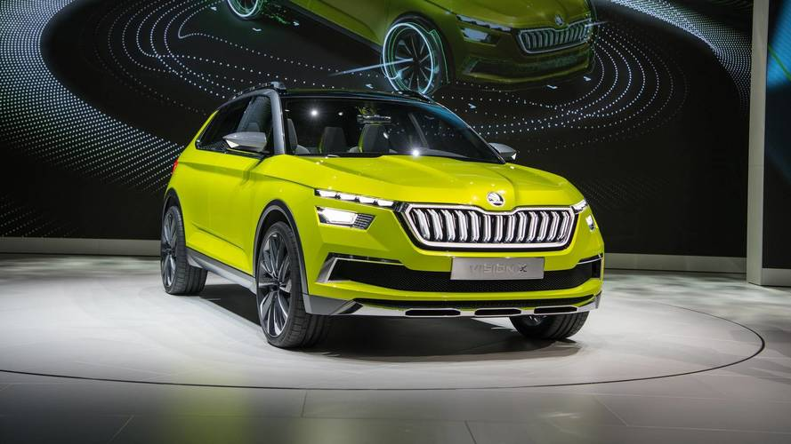 Image result for Skoda Vision X