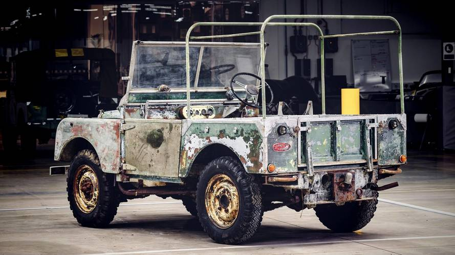 Land Rover To Restore The