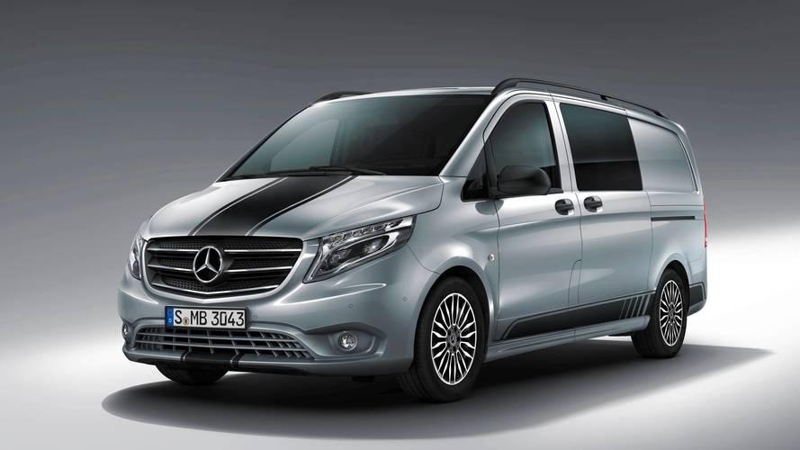 Gyári csomaggal lehet sportos szállítót faragni a Mercedes Vitóból