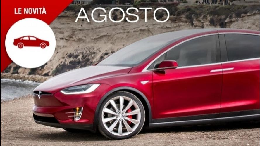 Novità auto, ad agosto solo modelli