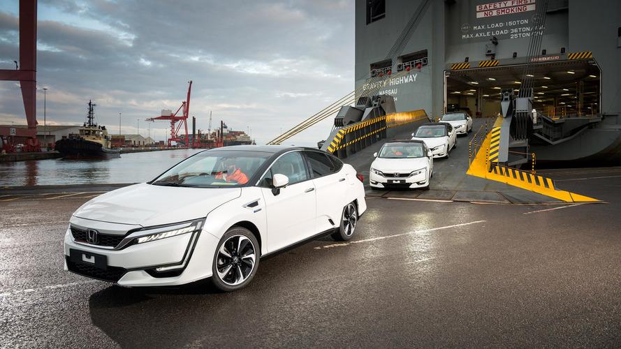Honda Clarity Arrives in Europe