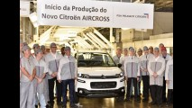 Novo Citroën Aircross 2016 começa a ser produzido no Brasil