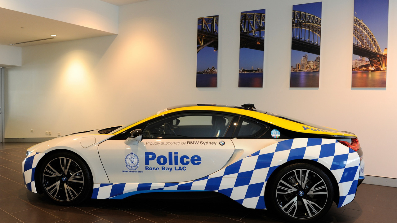 Rose Bay Polisi'nin BMW i8'i