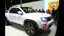 Renault Oroch (picape Duster) aparece em novos teasers; estreia será dia 18