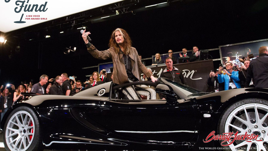 Steven Tyler's 1,200-hp Hennessey Venom sold for $800K at auction