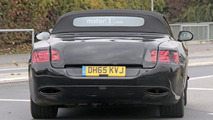 2018 Bentley Continental GTC spy photo