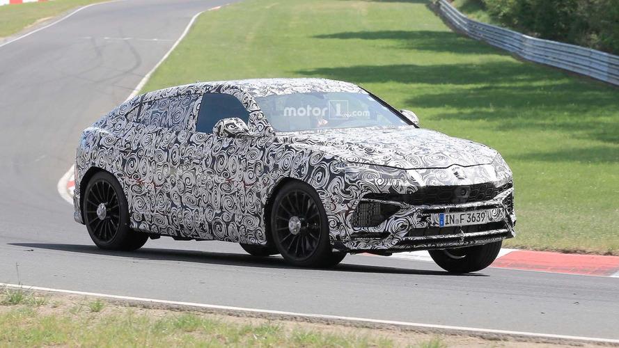 Lamborghini Urus 2018: así suena su motor en Nürburgring