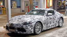 2018 Toyota Supra spy photo