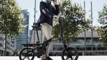 Bicicleta plegable Peugeot eF01
