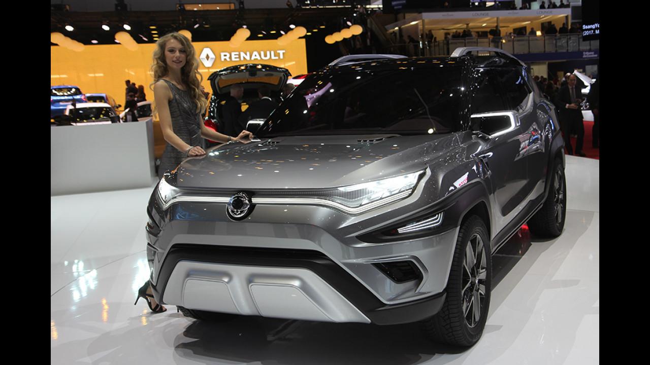 SsangYong XAVL Concept Car