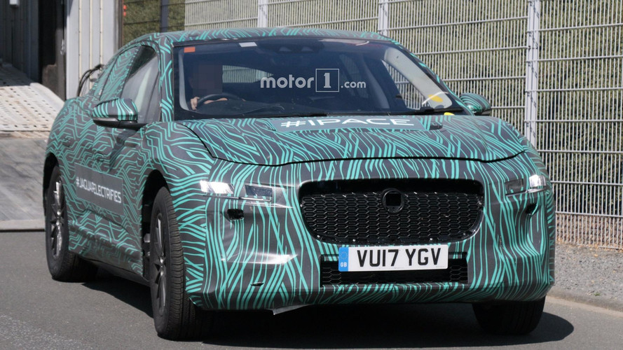 2018 Jaguar I-Pace new spy shots