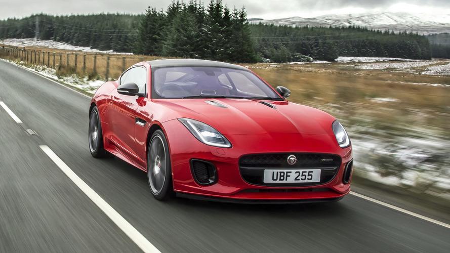 El Jaguar F-TYPE 2018 estrena una nueva mecánica de cuatro cilindros
