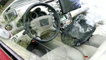 Mercedes SL 63 AMG Interior Spied