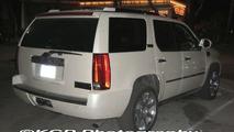 Cadillac Escalade Hybrid Prototype Spied