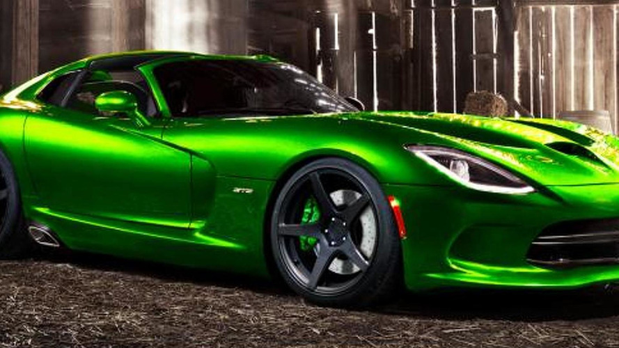 2014 Viper SRT Roadster speculative render