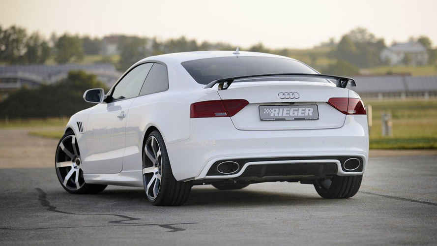 Audi A5 facelift by Rieger goes for RS5 look