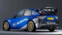New Subaru Impreza WRC 2008