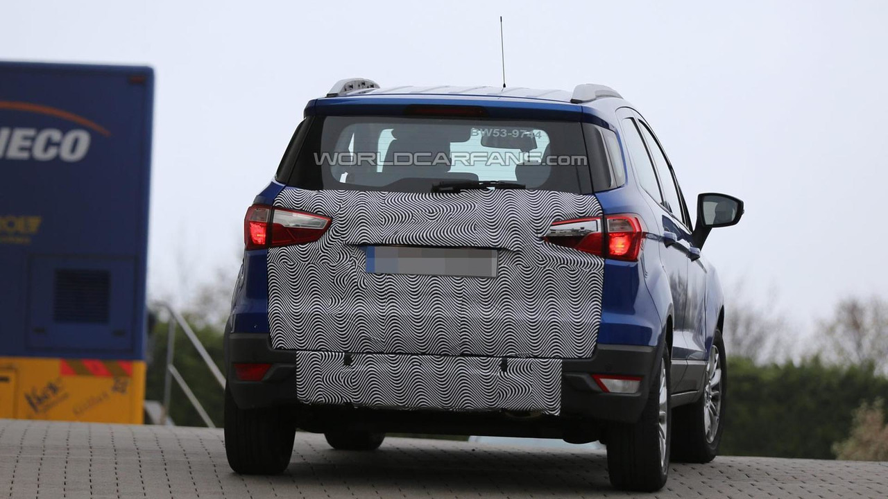 2015 Ford EcoSport spy photo