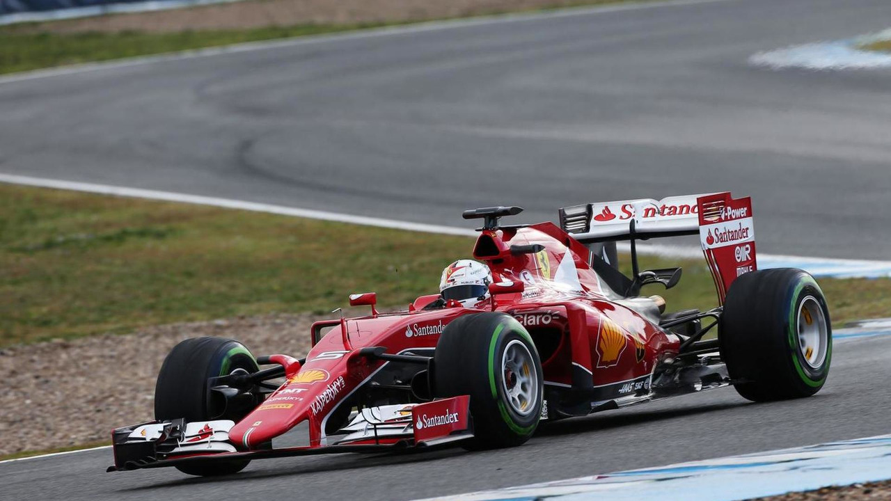 Sebastian Vettel (GER), Ferrari SF15-T, 02.02.2015, Formula One Testing, Day Two, Jerez, Spain / XPB
