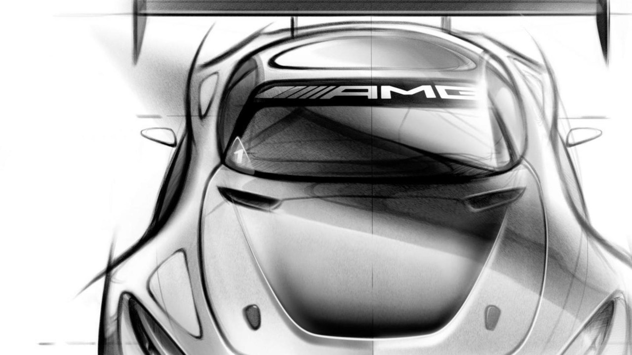 Mercedes-AMG GT3 design sketch